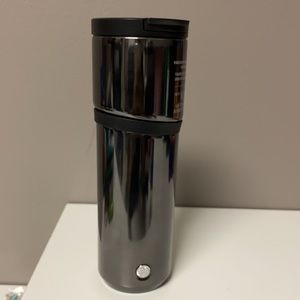 Starbucks 2020 Gunmetal Asymetrical Tumbler 16oz